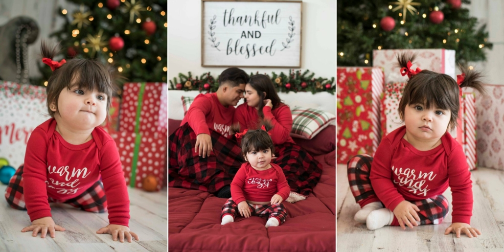 Christmas photography session