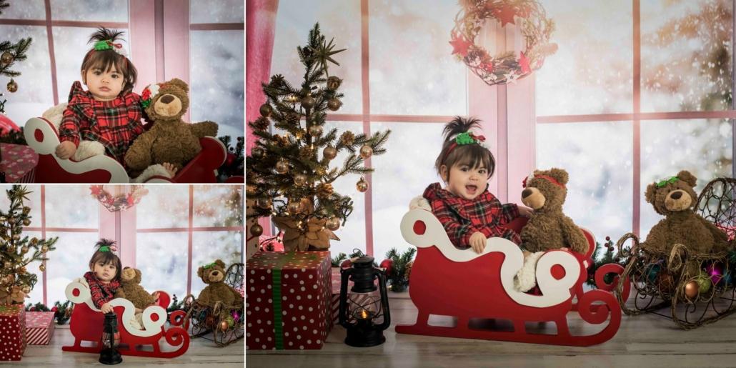 christmas photography children