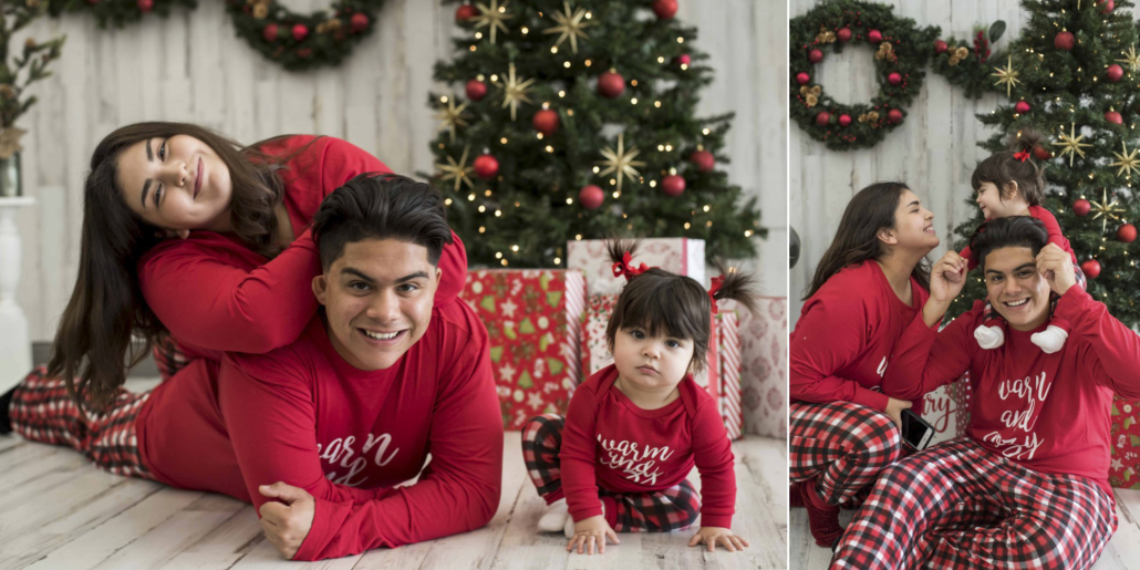 christmas family indoors photography specials